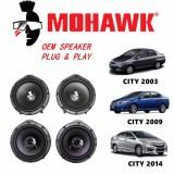 MOHAWK Plug & Play OEM Speaker For Honda City - Front & Rear