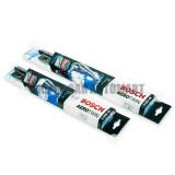 Bosch Aerotwin Plus Wiper Blade With Innovative Adapter System For Audi Q3 (8UB) Yr 2011 Present - 21inch / 24inch(Black)