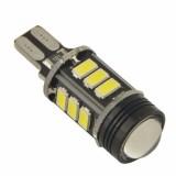 1Pc T15 W16W 7W Canbus Error Free 5050 16 SMD High Power LED Reverse Light Bulb 12V - White
