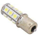 1Pc High Brightness 1156 24 SMD 5050 LED Car Turn Light Tail Lamp Bulb - White