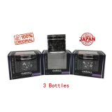 3 X Carall Regalia Enrich 1386 Velvet Musk Perfume-65ml (Made In Japan)