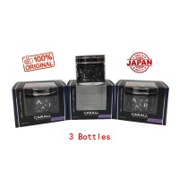 3 X Carall Regalia Enrich 1386 Velvet Musk Perfume-65ml (Made In Japan)