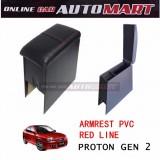 Armrest PVC Red Line For Proton Gen 2