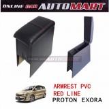 Armrest PVC Red Line For Proton Exora