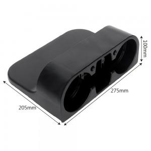 Car Seat Cup Drink Holder Cup Storage Box Holder,Phone Holder (Black)