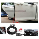 Audi A3-5M (BLACK) Door Trim Rubber Scratch Protector Tape (4 Doors)