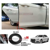 Audi A4-5M (BLACK) Door Trim Rubber Scratch Protector Tape (4 Doors)