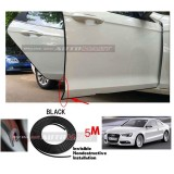 Audi A5-5M (BLACK) Door Trim Rubber Scratch Protector Tape (4 Doors)