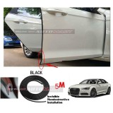 Audi A6-5M (BLACK) Door Trim Rubber Scratch Protector Tape (4 Doors)