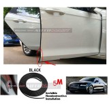 Audi A7-5M (BLACK) Door Trim Rubber Scratch Protector Tape (4 Doors)