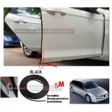 Alfa Romeo 156-5M (BLACK) Door Trim Rubber Scratch Protector Tape (4 Doors)