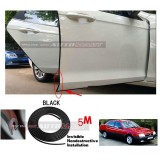 Alfa Romeo 164-5M (BLACK) Door Trim Rubber Scratch Protector Tape (4 Doors)