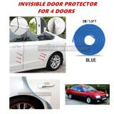 Alfa Romeo 164 - 16FT/5M (BLUE) Moulding Trim Rubber Strip Auto Door Scratch Protector Car Styling Invisible Decorative Tape (4 Doors)