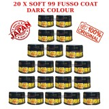 20 X Soft 99 Fusso Coat 12 Months Dark Color Wax - 200g