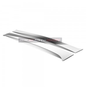 Honda Civic FD Yr 2006-2012 8 Generation - Car Chrome Door Window Pillar Trim Panel Chrome Stainless Steel (1 Set)
