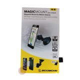 SCOSCHE MagicMount Universal Magnetic Phone/GPS Suction Cup Mount for the Car, Home or Office (MAGWSM2 )