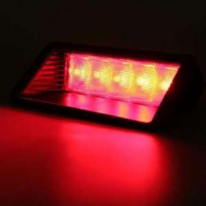 Universal Car Red 5 LED 12V Warning High Mount Third 3rd Brake Stop Tail Light (GT-81032A)