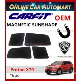 CARFIT OEM Magnetic Custom Fit Sunshade For Proton X70 (6pcs Sets)