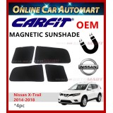 CARFIT OEM Magnetic Custom Fit Sunshade For X-Trail 2014-2018 (4pc)