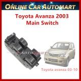 Toyota Avanza Old (2003-2010) Power Window Main Switch