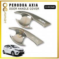 Perodua Axia Door Handle Inner Bowl Cover Trim Chrome (4pcs/set)