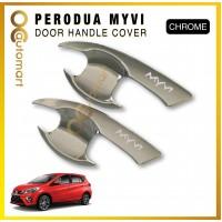 Perodua Myvi Door Handle Inner Bowl Cover Trim Chrome (4pcs/set)