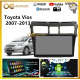 "Toyota Vios 2007-2013 Big Screen 9"" Black Colour Plug and Play OEM Android Player Car Stereo With WIFI Video Player/TouchScreen"