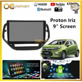 "Proton Iriz Big Screen 9"" Plug and Play OEM Android Player Car Stereo With WIFI Video Player/TouchScreen"