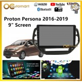 "Proton Persona 2016-2019 Big Screen 9"" Plug and Play OEM Android Player Car Stereo With WIFI Video Player/TouchScreen"
