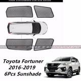 Custom Fit OEM Sunshade / Sun shades for Toyota Fortuner 2016 - 2019