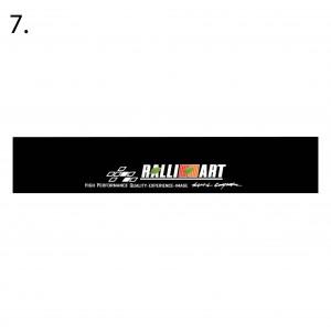 Universal Car Windscreen Sticker Front Or Rear Windscreen Windshield 10inch X 52inch