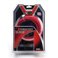 NAKAMICHI NK-WK110 10GA Wiring Kit Amplifier Cable Set For 2 Channel Amplifier Use
