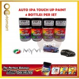 PERODUA MYVI Original Touch Up Paint - AUTOSPA Touch Up Combo Set (4 Bottles Per Set)