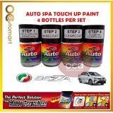 PERODUA Bezza Original Touch Up Paint - AUTOSPA Touch Up Combo Set (4 Bottles Per Set)