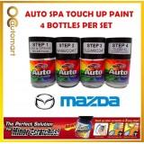 MAZDA CAR Original Touch Up Paint - AUTOSPA Touch Up Combo Set (4 Bottles Per Set)