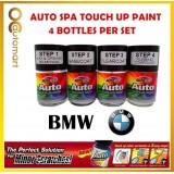 BMW CAR Original Touch Up Paint - AUTOSPA Touch Up Combo Set (4 Bottles Per Set)