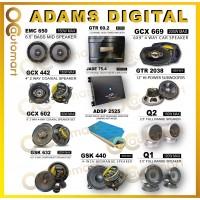 "Adams Digital GTR Series Car Speaker 4 or 6.5 inch 6x9 Mid Bass Component Spk Sound Proof 12"" Woofer Full Range Amplifier"