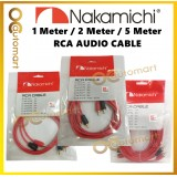 Nakamichi RCA Cable Car Audio System Home Audio Amplifier Braided Copper Cable 1M 2M 5M Length