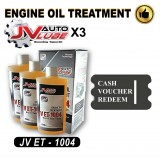 ( Cash Voucher Redeem ) 2 Bottle Original JV Auto Lube - Engine Oil Treatment (JV ET-1004 )