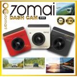 70mai A400 Car Recorder Dash Cam QHD 1440P Rear Cam Night Vision 145 FOV WDR App Control Smart