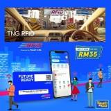RFID Touch 'n Go Self-fitment (DIY) RFID Tag