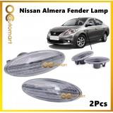 ( 1 Set ) Nissan Almera 2012 Fender Lamp Signal Light With Bulb
