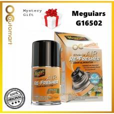 ( Free Gift ) Meguiars Meguiar's G16502 Air Re-Fresher / Air Freshener  Citrus Grove Scent 2oz