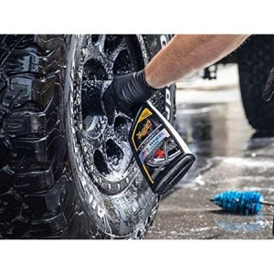 ( Free Gift ) Meguiar's G180124 Ultimate All Wheel Cleaner 709ml Tyre Rim Cleaner Meguiars