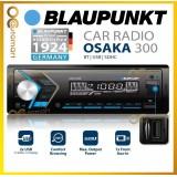 BLAUPUNKT Osaka 300 No CD Player Bluetooth USB AUX in Car FM Stereo Player Kereta Car Radio Single Din
