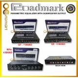Roadmark Pre AMP Parametric Equalizer Audio Equalizer 4 5 7 Band Preamp