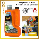 (Free Gift) Meguiars G210256 Hybrid Ceramic Wash & Wax Car Shampoo Meguiar's Shampoo1.41L Wash / 236 ml SiO2 Boost