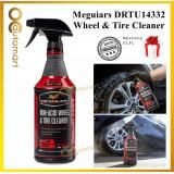 (Free GIft) Meguiars DRTU14332 Non Acid Wheel & Tire Cleaner 946ml Meguiar's Clean Tires & Wheels Without Acid