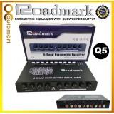 Roadmark Pre AMP Parametric Equalizer Audio Equalizer 5 Band Preamp
