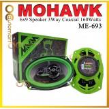 Mohawk 6x9 Car 3Way Speaker ME-693 Coaxial Speaker Spiker Kereta Speaker Bujur 6 x 9 Size